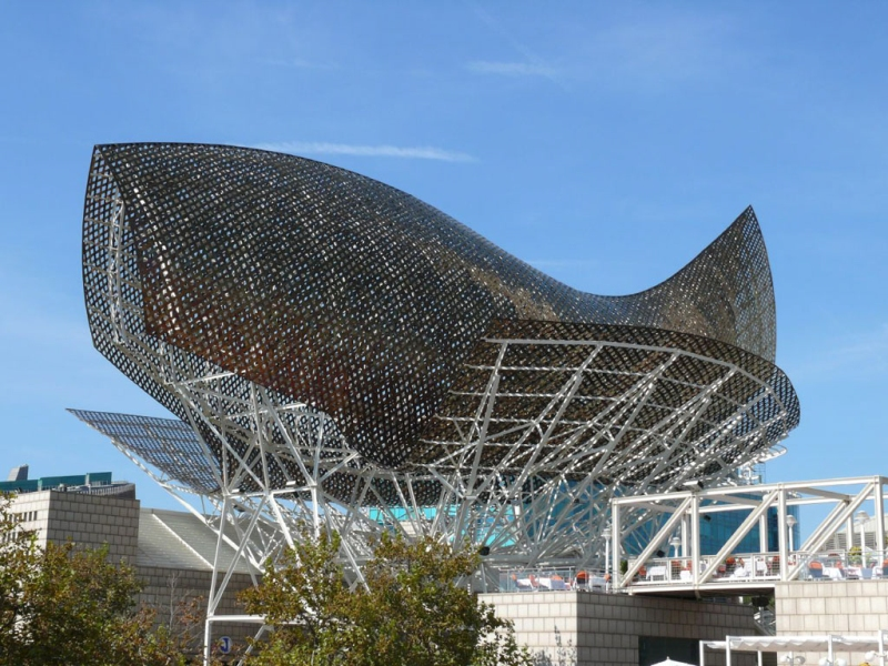 8.12 Gehry: Barcelona Fish - First BIM - CATIA