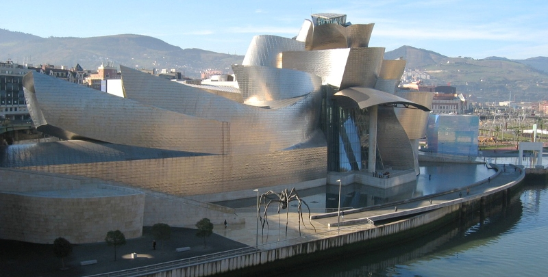 8.13 Gehry: Guggenheim, Bilbao - Digital Project