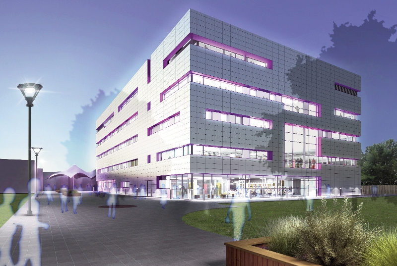8.29 Ryder: Grimsby University Campus. Revit