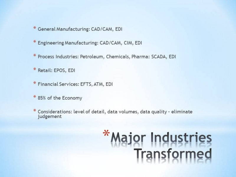 9.17 Transformed Industries