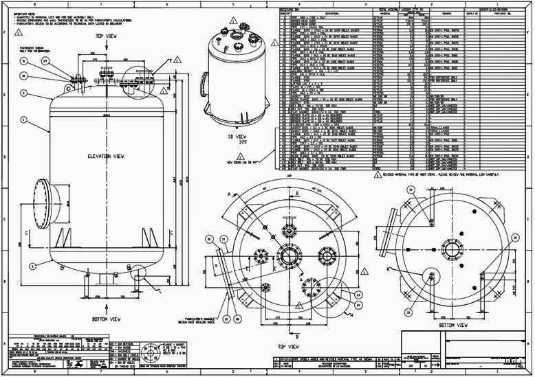 6.07 Pressure Vessel Drawing